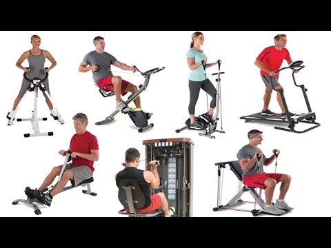 Best Home Fitness Equipment - Top 10 Home Gym Exercise Machines 2017