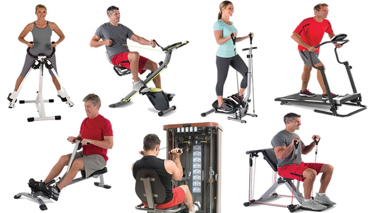 Best Home Fitness Equipment - Top 10 Home Gym Exercise Machines 2020 - YouTube