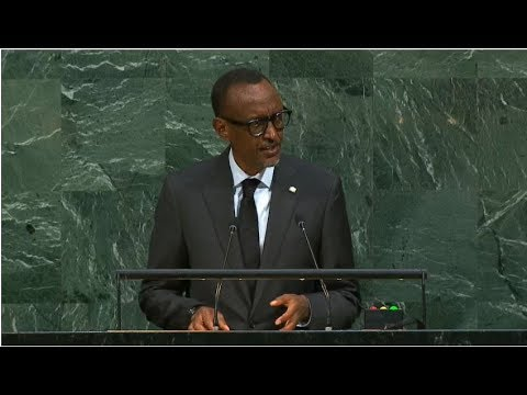 Rwanda - President addresses the 72nd United Nations General Assembly