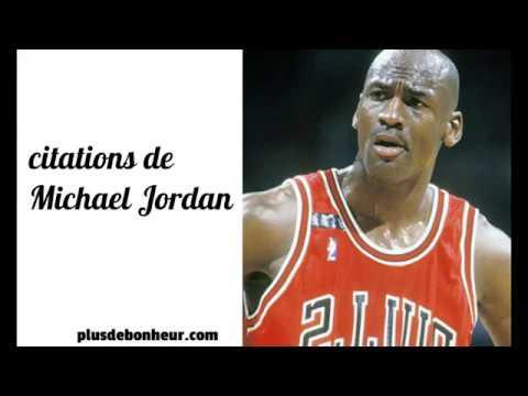 Citations Motivantes De Michael Jordan Youtube
