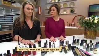 Matt eller blankt? Nyhetsmorgon reder ut vinterns nagellackstrender - Nyhetsmorgon (TV4)