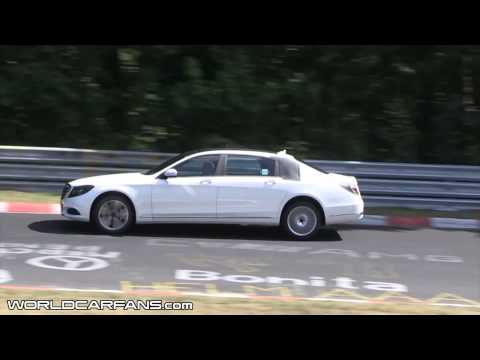 2014 Mercedes-Benz S-Class extra-long wheelbase spied