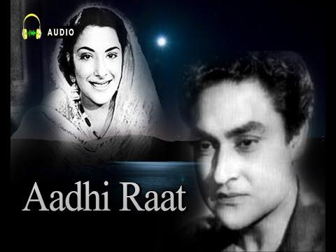 Humein Duniya Ko Dil Ke Zakhm...Aadhi Raat...1950...Singers...Lata Mangeshkar,Mohammed Rafi.