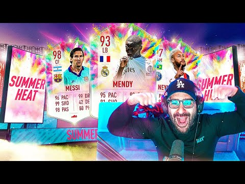 OMFG FREE PACKS!! SUMMER HEAT IS INSANE!! BEST FIFA PROMO EVER? FIFA 20 Ultimate Team