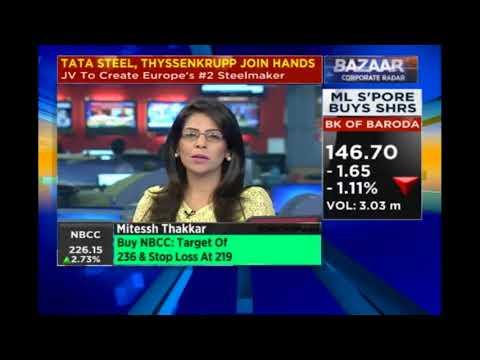 Mitessh Thakkar | Buy GAIL India, Kajaria Ceramics; Sell HDFC, Reliance Infrastructure, MRF | CNBC