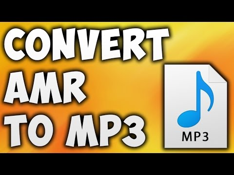 How to Convert AMR TO MP3 Online - Best AMR TO MP3 Converter [BEGINNER'S TUTORIAL]