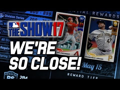 50 POINTS TILL GOLDY! - MLB The Show 17 Diamond Dynasty (MLB The Show 17 Gameplay Livestream)