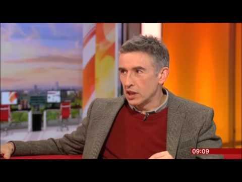 Steve Coogan BBC Breakfast 2015