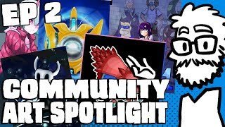 COMMUNITY ART SPOTLIGHT ep 2 || Jaegers and demon girls and probes, oh my!
