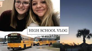 HIGH SCHOOL VLOG!!! Ein Schultag in Amerika!   Auslandsjahr 2016/17 USA