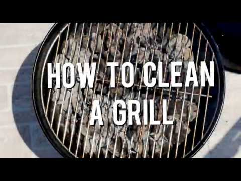 How to Clean Your Grill Grate