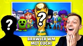 Brawler Community WM 2019! 🏆 | NEUES PROJEKT MIT EUCH! | Brawl Stars deutsch