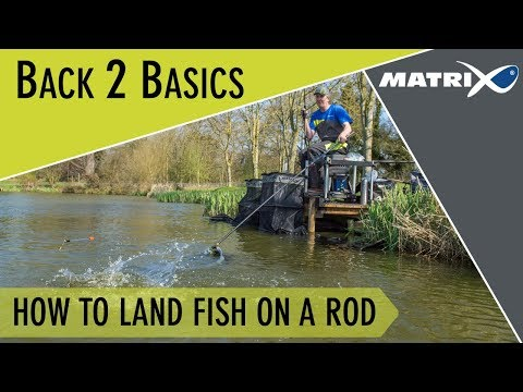 *** Coarse & Match Fishing TV *** How To Land Fish On A Rod