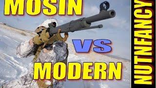 Mosin Nagant vs Modern Bolt Gun: Why Mosin Loses Big Time