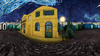 The starry night Stereo VR experience