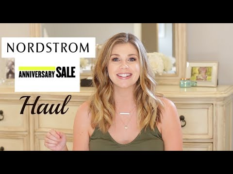 Nordstrom Anniversary Sale Haul 2017 | Try on and Sizing Reviews!