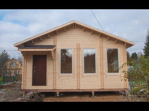 Дом из двойного бруса за 5 дней в Сергиево-Посадском районе МО[АА33]