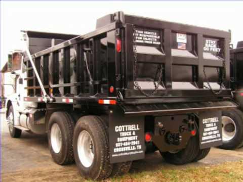 2007 International 9200 Tandem Dump Truck | Crossville, TN | Nashville Atlanta Louisville - YouTube