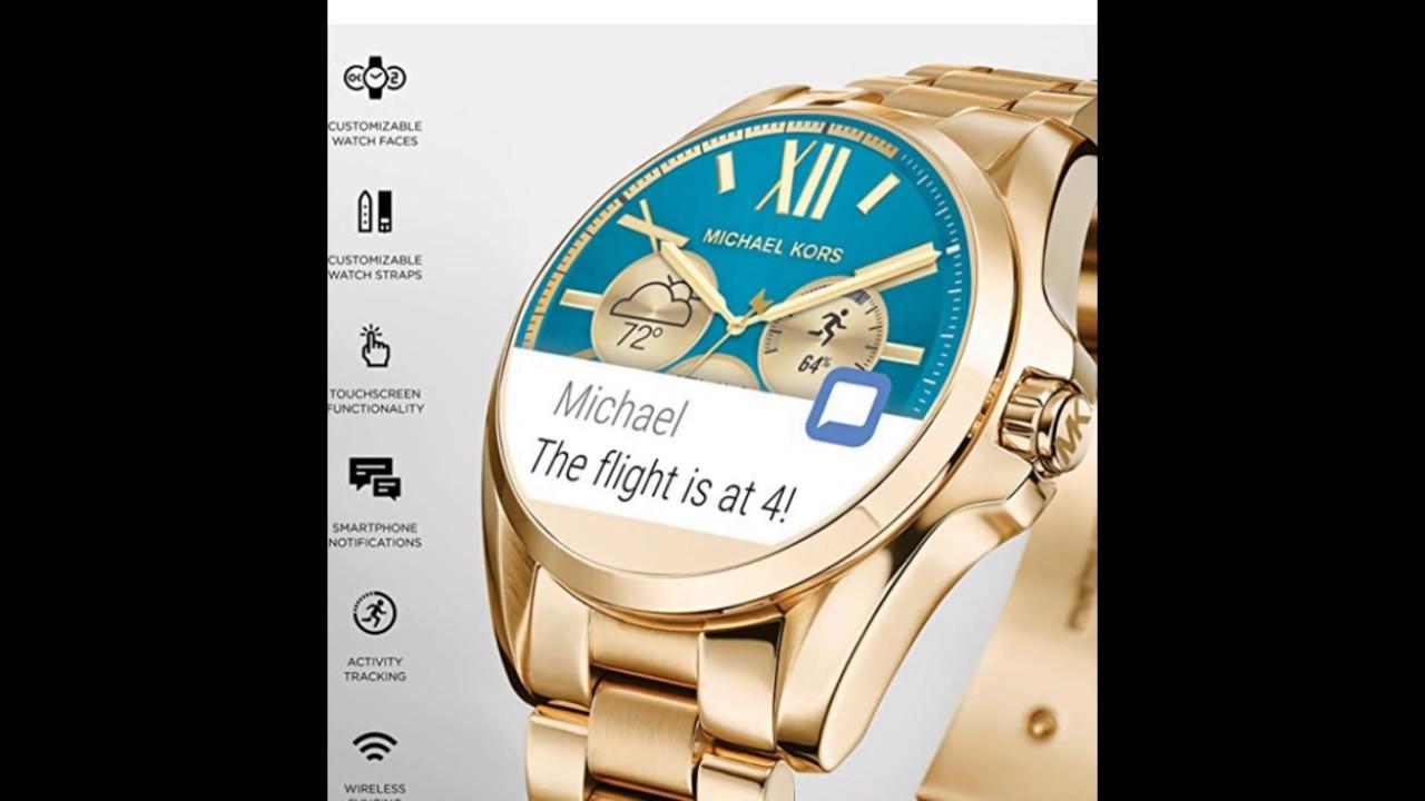 1dd16aaade2d Bradshaw Smartwatch MKT5002 - YouTube