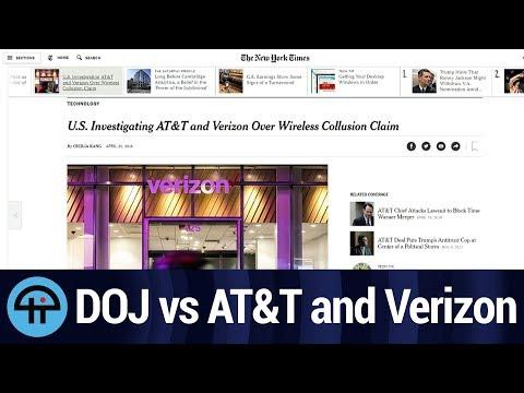 DOJ Investigating AT&T and Verizon Over Collusion Claims