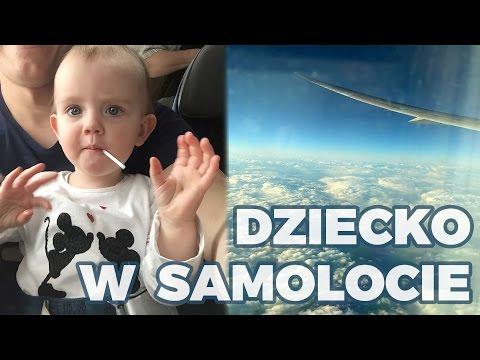 Dziecko w samolocie: Jak przetrwać lot z małym dzieckiem?