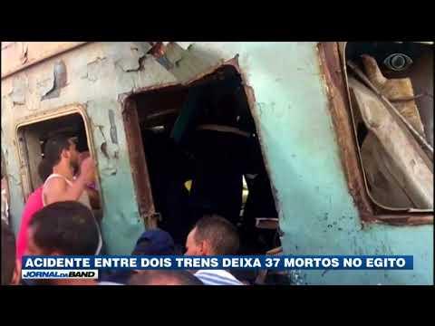 Acidente Entre Dois Trens Deixa 37 Mortos No Egito