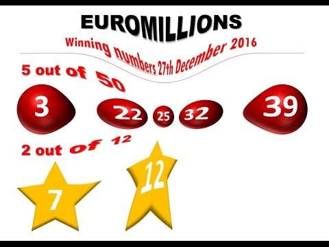 Zahlen Euromillions
