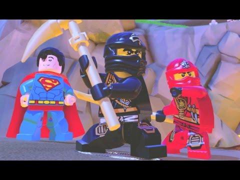 LEGO Dimensions - Ninjago Adventure World 100% Guide (All Collectibles)