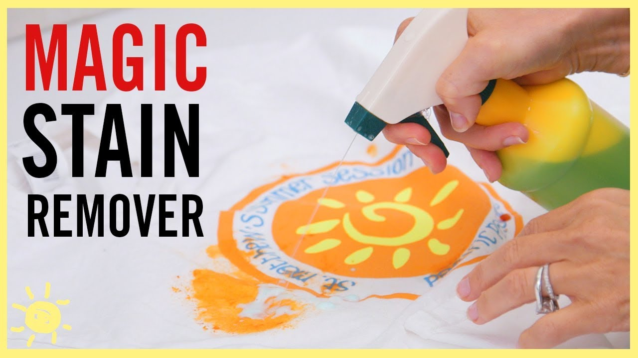 DIY | Magic Stain Remover - YouTube