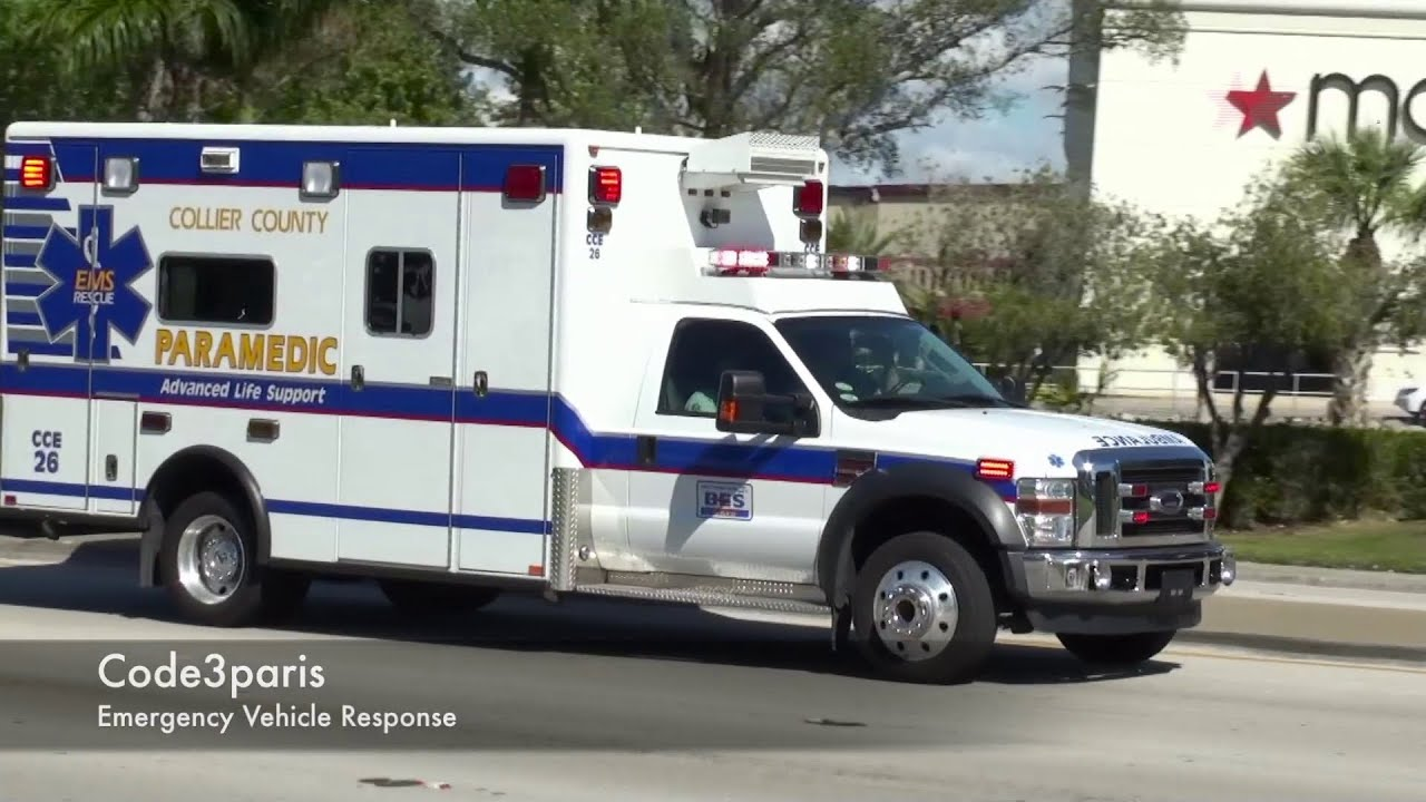Emergency ambulance cce 26 naples fire dept special for Motor vehicle naples fl