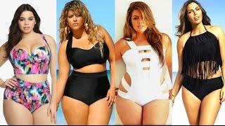 Plus-Size Swimwear Lookbook♥2016/Trajes de baño para Gorditas con Curvas♥