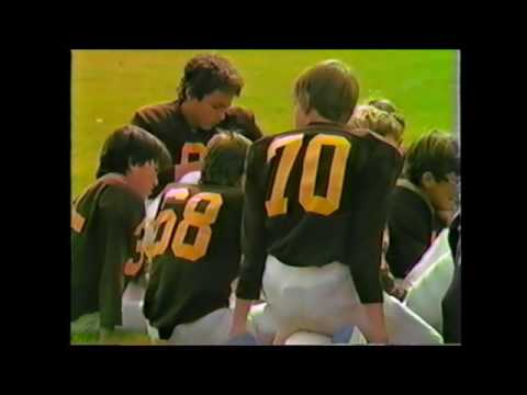Lovell Middle School 8th Grade Football vs. Rocky Mountain 1984