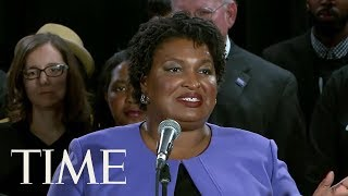 Stacey Abrams Ends Challenge Against Republican Brian Kemp For Georgia Governor | TIME