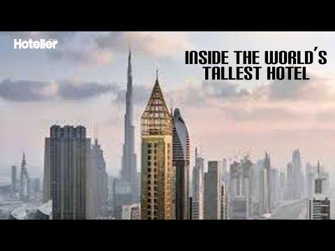 Inside the world's tallest hotel in Dubai
