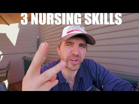 3 NURSING SKILLS to have as an ER NURSE