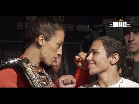 UFC 211 Media Day Face Offs