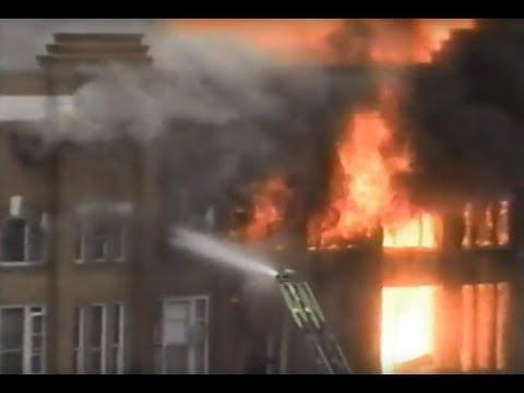 Harphill Apartment Block Fire, Prince Albert, SK - Mar. 11, 1993 - CKBI-TV