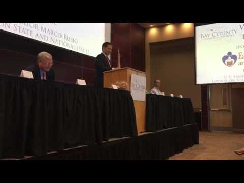 Senator Marco Rubio Speaking at Bay County Chamber First Friday