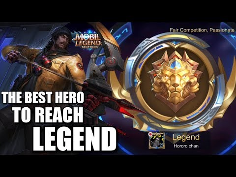 THE BEST HERO TO REACH LEGEND RANK RIGHT NOW