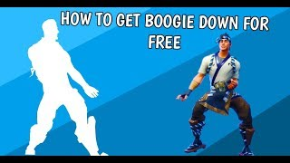 HOW TO GET BOOGIE DOWN FOR FREE ON MOBILE l FORTNITE