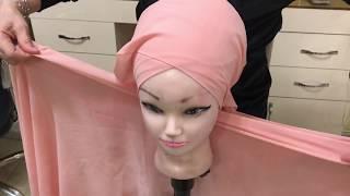Kolay turban modelleri ( anlatımlı ) kolay şal bağlama teknikleri