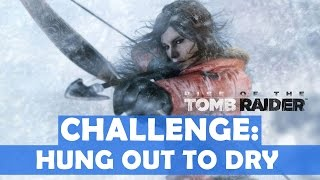 Rise of the Tomb Raider - Hung Out to Dry Challenge Walkthrough (6 Snared Rabbits Cut Down)