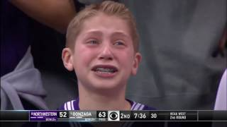 Crying Northwestern Kid Becomes Immediate    Tournament Internet Sensation