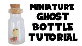 Miniature Ghost Bottle | Halloween Crafts