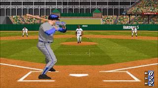 [고전게임] 하드볼5 플레이 영상(Hardball 5 gameplay)