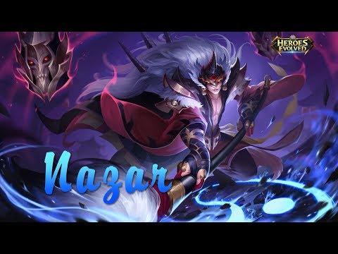 Heroes Evolved Mobile: New Hero- Nazar