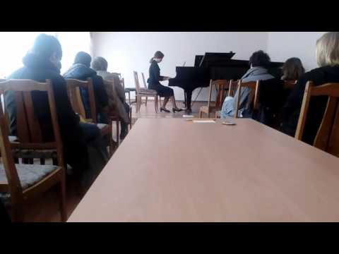 Inesa Sinkevych Master Class `Schubert - Impromptu op. 142 No.3 B flat major`