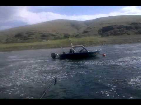 Lower Granite Dam Salmon Fishing