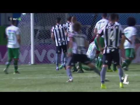 Botafogo 0 x 2 Chapecoense - Melhores momentos - Brasileirão 2016