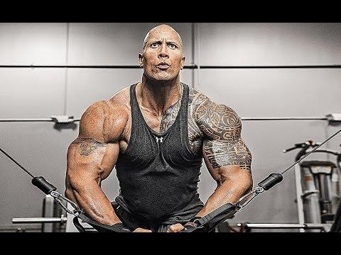 Bodybuilding Motivation Dwayne The Rock Johnson Training